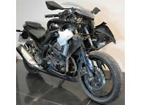 2013 63 KAWASAKI EX 300 ADF NINJA PROJECT SPARES OR REPAIR TRADE SALE A2 6K
