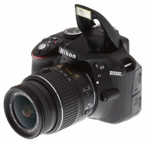 I have a Nikon D3300 with 18-55mm lense kit