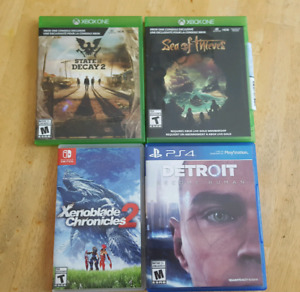 PS4 Switch Xbox one games