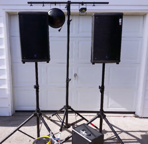 DJ Equipment - Speakers and Lights