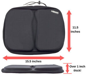 Domain Cycling Extra Large Gel Exercise Bike Seat Cushion Cover,