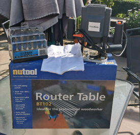 Router Table & Router