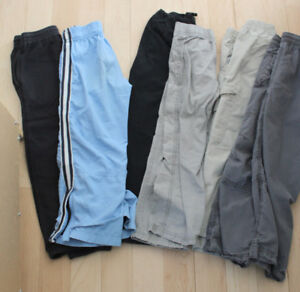 6 pants, size 6 years, $ 10 for all