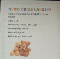 Need childcare? Southgate area?