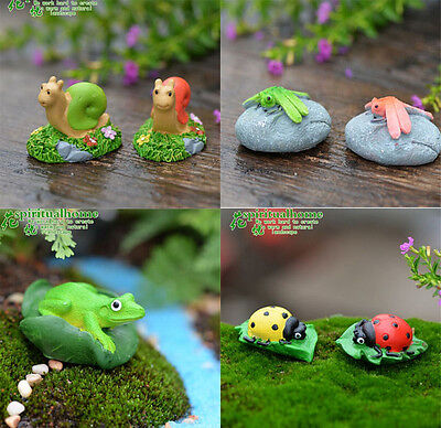 1pcs Miniature Dollhouse Fairy Garden Landscape Terrarium Figurine Decor