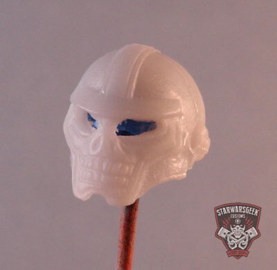 """MH245 Custom Cast Sculpt part Male head cast for use with 3.75/"""" action figures"""