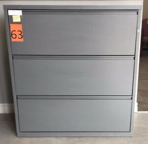 3 Drawer Lateral Filing Cabinets - 20 available