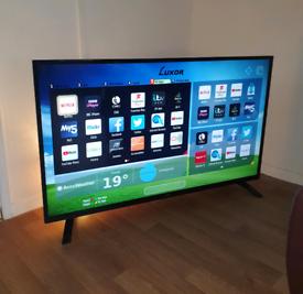"Smart 55"" Luxor 4k UHD tv"