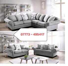 ☑️☑️ Nicole Corner Or 3+2 seater Sofa ☑️☑️