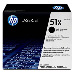 HP 51X Toner - Q7551X - New - Original HP