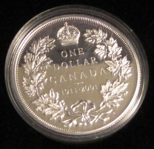 """90th Anniversary of the 1911 Silver Dollar"" Coin : 55$ o.b.o."