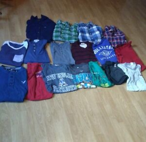 17 men/boys shirts-$30 for ALL