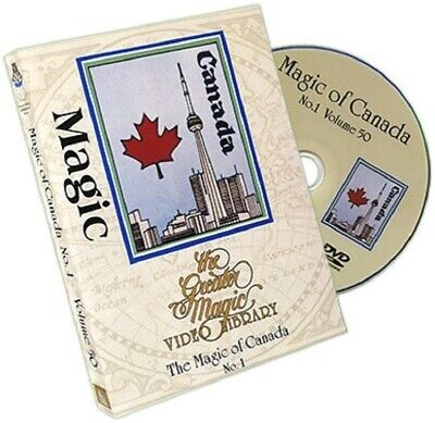THE MAGIC OF CANADA - THE GREATER MAGIC VIDEO LIBRARY - Ouellet,  NEW