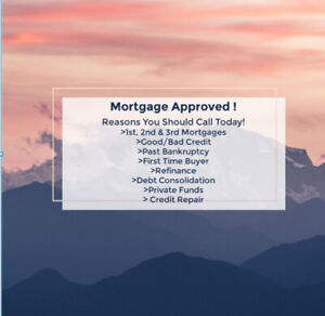 Mortgages For Good, Bad & No Credit!