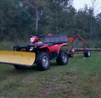 2000 lb log skidder trailer for sale