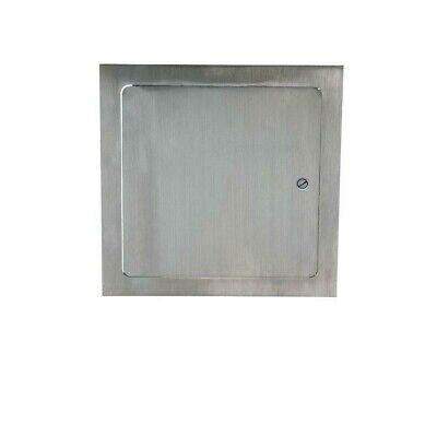Elmdor Access Doors Metal W Frame Stainless Steel Screwdriver Latch Drywall