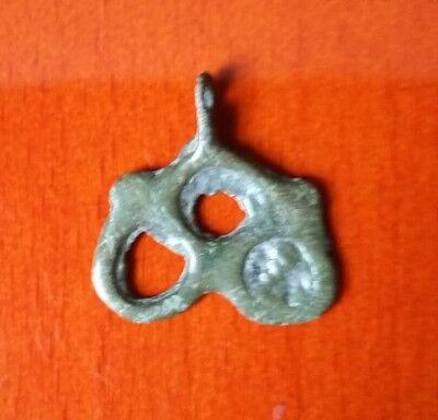 Bronze viking pendant