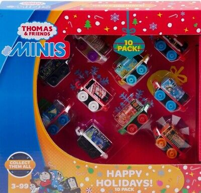 THOMAS AND FRIENDS HOLIDAY MINIS 10 PACK
