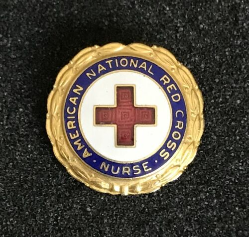 American National Red Cross Nurse Pin Numbered 263374