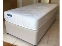 X2 SINGLE DIVAN BED WITH MATTRESS 🚚DELIVERY AVAILABLE 🚚