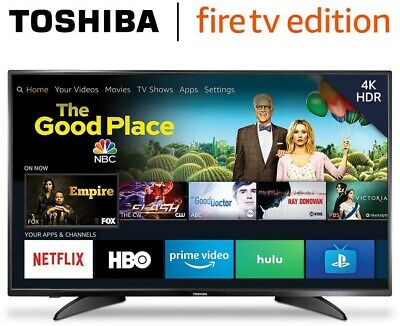 Toshiba 50-inch 4K Ultra HD Smart LED TV HDR - Fire TV Edition