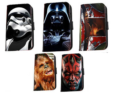 Star Wars phone case Darth Vader Boba fett inspired leather case Iphone Samsung