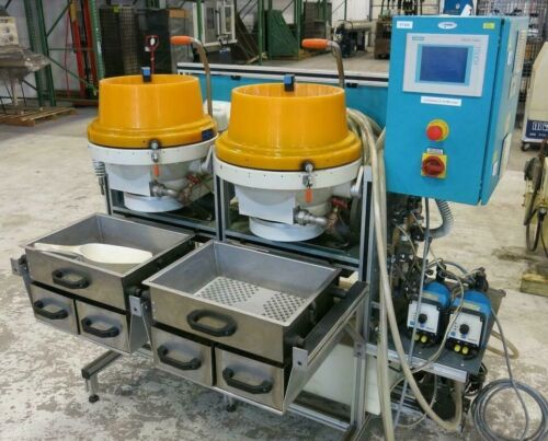 MultiFinish MF 22/2 (Wet Bowls) Centrifugal Precision Polishing Machine - 54043