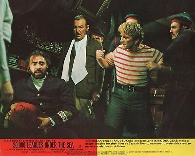 20,000 LEAGUES UNDER THE SEA  lobby card print #7 KIRK DOUGLAS