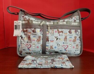 LeSportsac My Buddy Deluxe Everyday Bag Shoulder Crossbody - New With Tags
