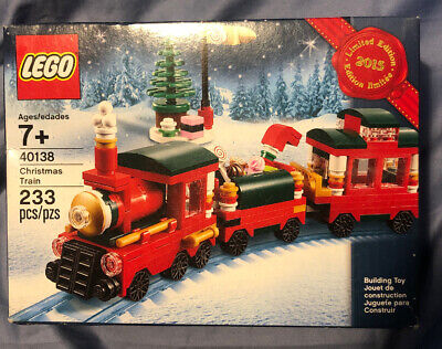 LEGO - 2015 Limited Edition Holiday Set - Christmas Train 40138 - Sealed Box