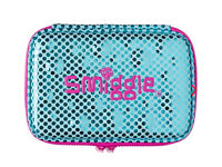 Smiggle metallic double Hardtop pencil case BRAND NEW WITH TAGS