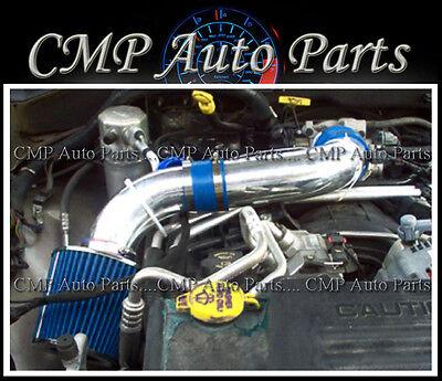 Dodge Dakota Intake - BLUE 2000-2002 DODGE DURANGO DAKOTA 3.7 3.7L 4.7 4.7L AIR INTAKE SYSTEMS