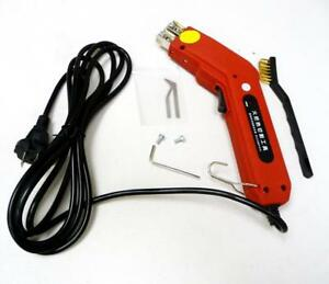 New Heavy Duty 220V Electric Hot Knife Cutter Tool Fabric Curtain Heater 100W(020025)