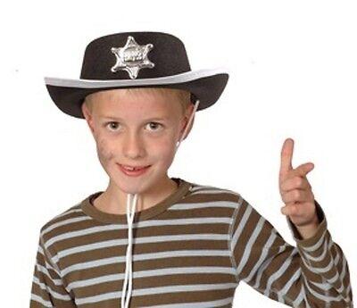 Cowboyhut mit Sheriffstern - Sheriff Hut