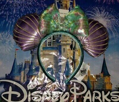 NEW WITH TAGS Disney Parks 30th The Little Mermaid Princess Ariel Ear Headband