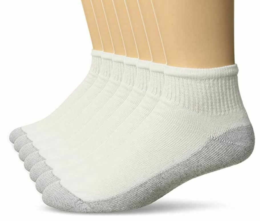 Fruit of the Loom 7 Pair Full Cushion Ankle Sock Men's Shoe Size 6-12 Clothing, Shoes & Accessories
