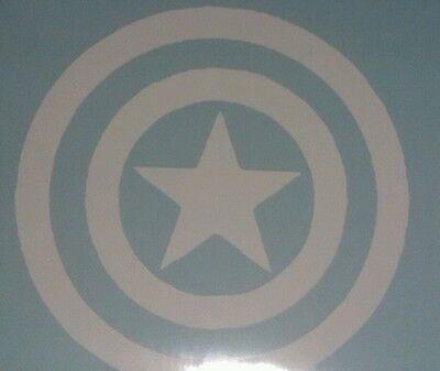 Наклейки и рисунки Captain America Shield