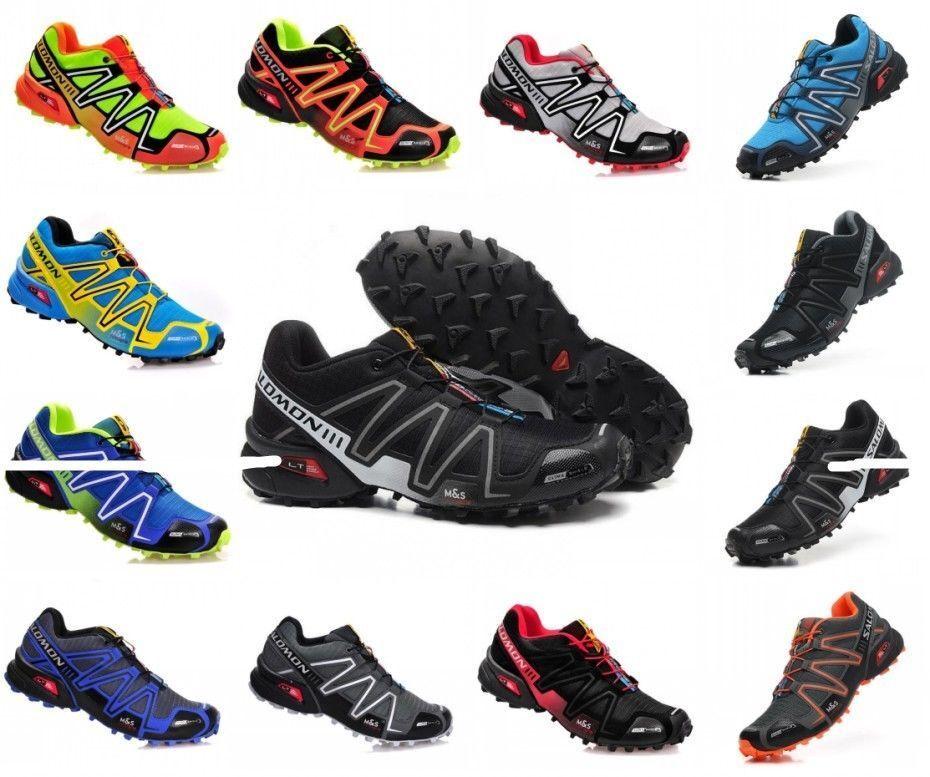 d7fc6839733a3c Größe 39-46 Herren Schuhe Salomon Speedcross 3 Outdoorschuhe Laufschuhe  Shoes AA