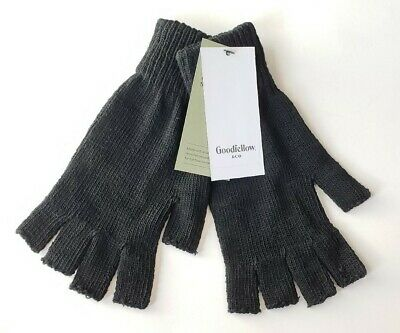 Goodfellow and Co. black gloves fingerless one size