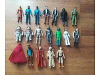 Mixed Lot of Star Wars figures 1977-85 (4)