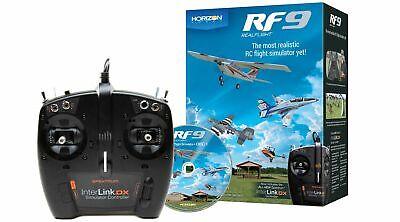 Horizon Hobby RealFlight 9 RF9 RC Airplane Flight Simulator Multi-Mode Interlink