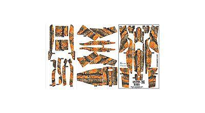 Actualización RC Hunter Naranja Camuflaje Ap Hyper Piel Hoja 350Qx Pegatina