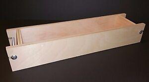 Adjustable Wooden Soap Mold V2 - Up to 15