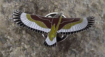 North American Golden Eagle Wildlife Protection Prey Bird Brooch Pin Badge