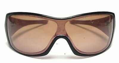 Oakley Riddle Women's Sunglasses Pink Brown Wrap Around
