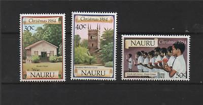 Nauru 1984 Christmas SG 315/7 MNH