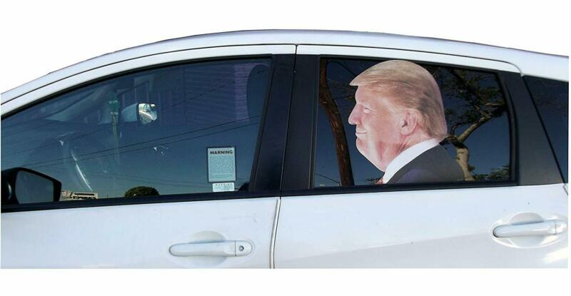 aahs!! Engraving Donald Trump Window Decal
