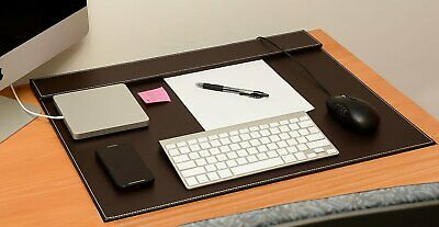Conference Pad Pu Leather Desk Writingdesk Matfile Paper Clip Drawing Board