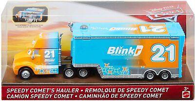 Disney Pixar Cars - Speedy Comet's Hauler Transporter Truck