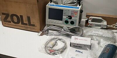 Zoll M Series Biphasic 200 Joules Max-refurbished Paddles-battery